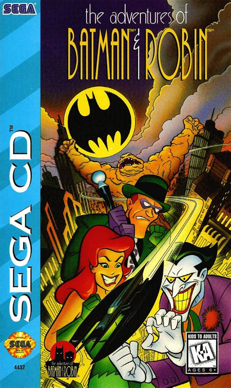 retro review  adventures  batman robin sega cd