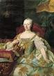 A Portrait Of Maria Theresa, Archduchess Of Austria ...