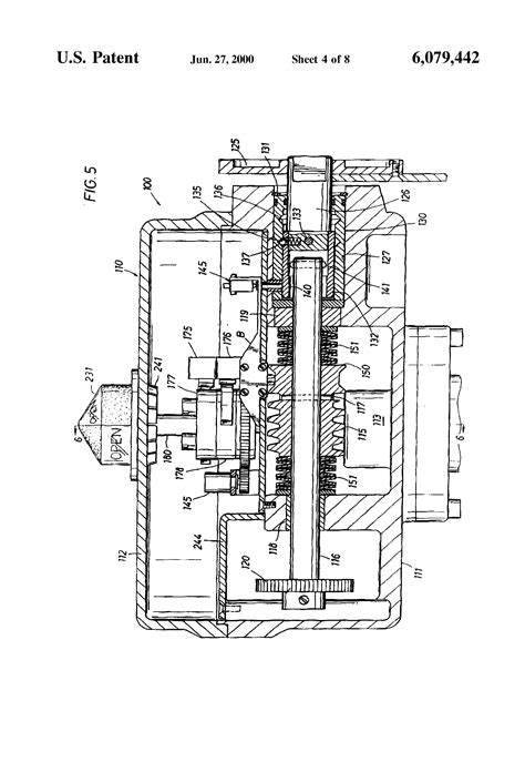Valve Actuator Diagram by Patent Us6079442 Valve Actuator Patents