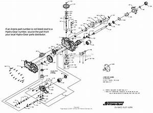 Gravely 991201  040000 -   Pro-turn 52 U0026quot  Parts Diagram For Transaxle