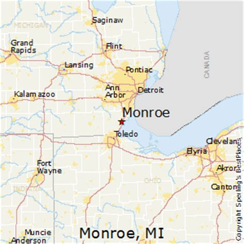 Best Places to Live in Monroe, Michigan
