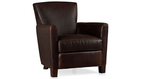 Briarwood Brown Leather Club Chair