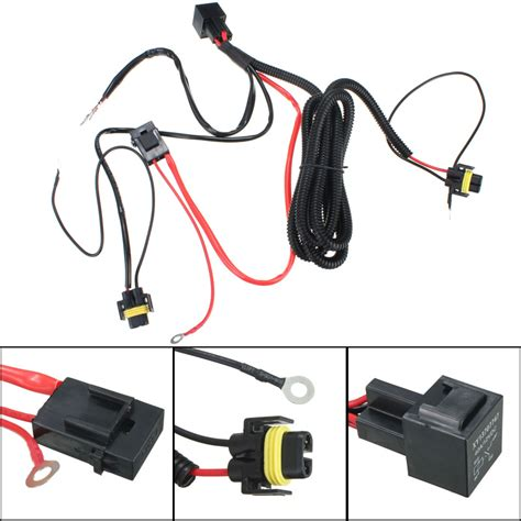 Relay Wiring Harness For Hid Conversion Kit Add