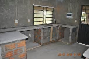 gemauerte küche bau der küche pegasus 7166