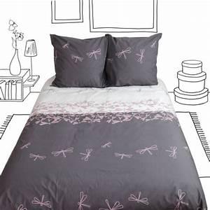Parure De Lit Zen : parure de lit envol seg 2 taies 240x220 linge de maison ~ Teatrodelosmanantiales.com Idées de Décoration