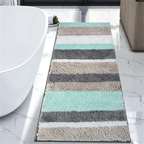 extra long bathroom runner rugs lanzhomecom