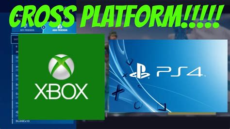 fortnite   play cross platform xbox   ps