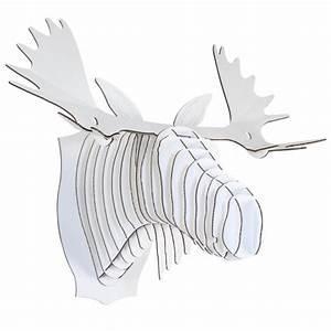 Trophée Animaux Carton : diy t te de cerf en carton faire soi m me astuce d co ~ Melissatoandfro.com Idées de Décoration