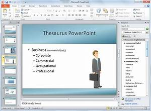 how to use thesaurus in powerpoint powerpoint presentation With how to use a powerpoint template