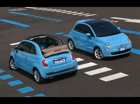 Fiat Air by Fiat 500c Air In Blue