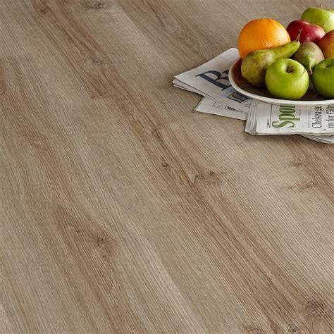 Colours Brown Natural oak effect Luxury vinyl click