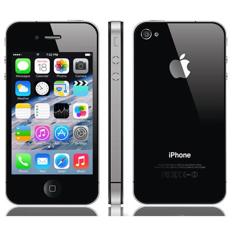 black iphone 4 used iphone 4 8gb smartphone at t talk net 10