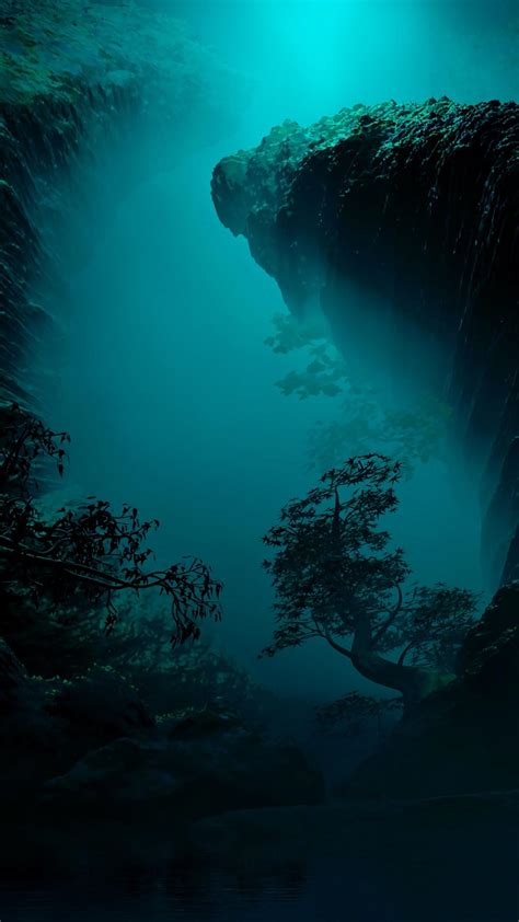 Underwater Caves Wallpapers - Wallpaper Cave