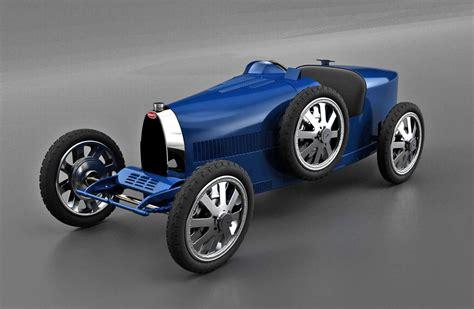 It's 75% of the size of a real bugatti type 35. Bugatti Baby II: l'auto elettrica da 30.000 Euro per bambini (ricchi) - Digitalic