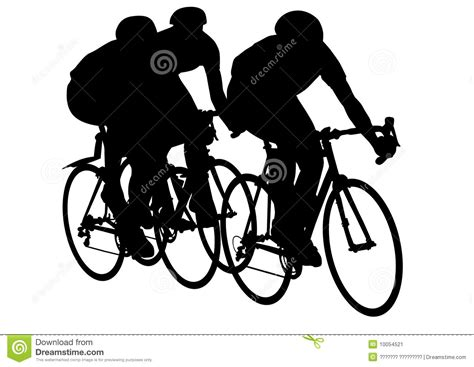 Racing Bicycle Clipart