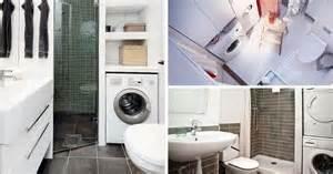 machine a laver dans salle de bain 9 petites salles de bains avec lave linge astuces conseils