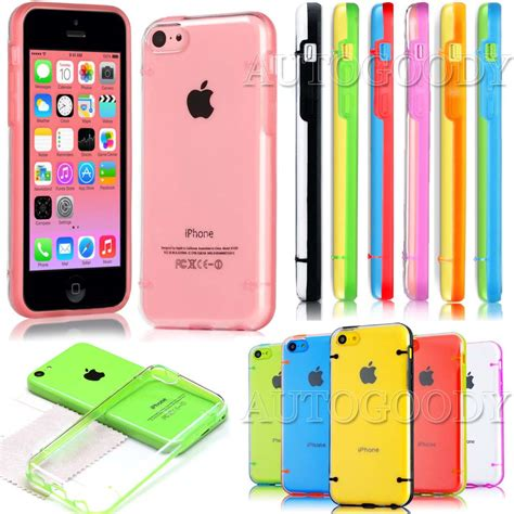 iphone 5c cases for slim transparent clear tpu cover for