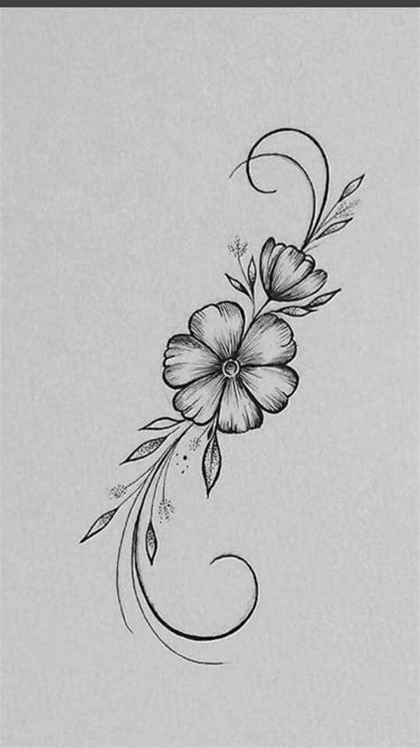 Pin de Veronica Garcia en Tatuajes | Dibujos de flores