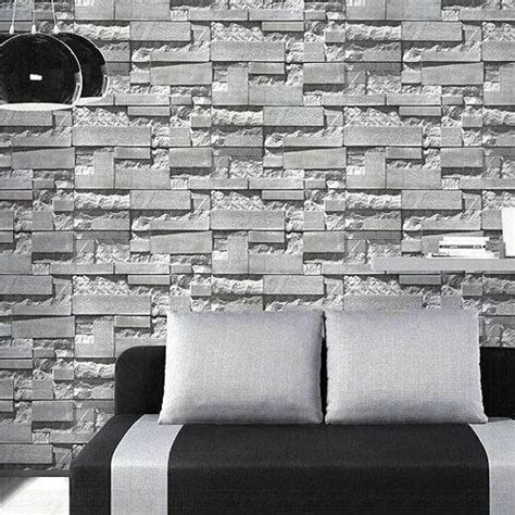 stone brick wallpaper  home rs  roll fab