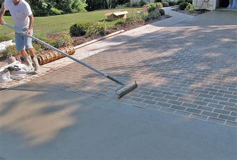 concrete template improve your outcome when using concrete stencils concrete decor