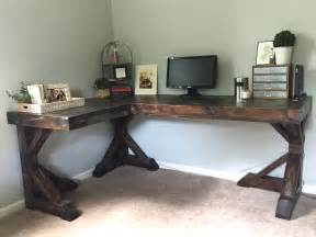 diy corner desk little home happiness