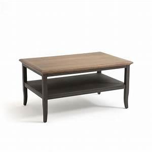 Table Basse Double Plateaux Eulali Gris La Redoute