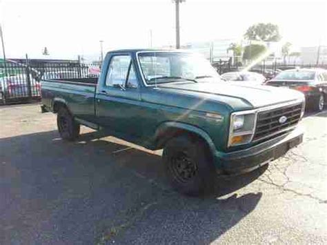 buy used 1983 ford f 150 base standard purchase used 1983 ford f 150 base standard cab pickup 2 door 4 9l no reserve in los angeles