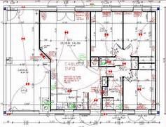 plan maison traditionnelle plain pied 89 m2 garage - Electricite Dans Une Maison