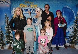 Tori Spelling and Dean McDermott with kids Jack Liam ...