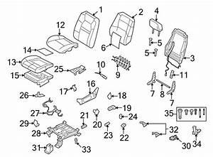 Ford Explorer Sport Trac Power Seat Switch Knob  Lumbar