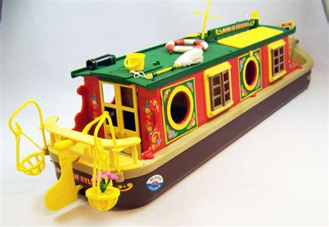 Sylvanian Families Canal Boat by Mapletown Sylvanian Families Canal Boat