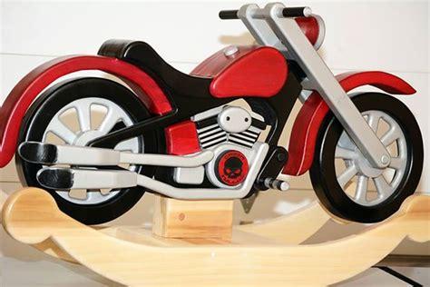 motorcycle rocker  grandson finewoodworking