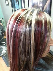 Best 25 Black Hair Red Highlights Ideas On Pinterest