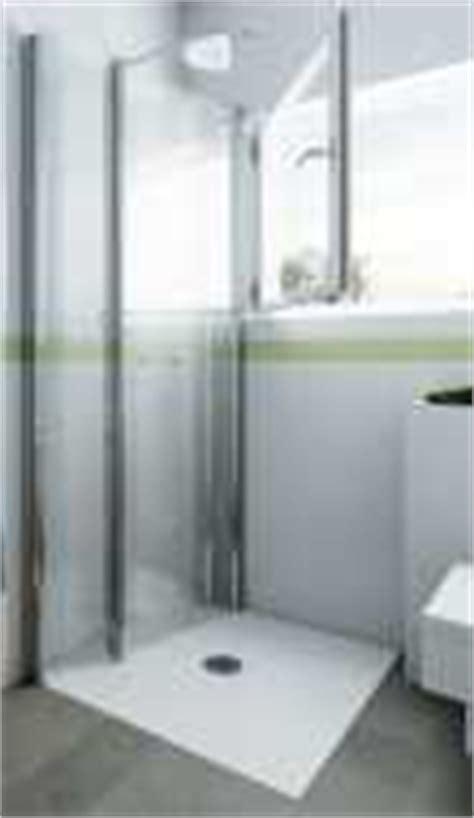 Dusche Mit Falttür Und 2 Seitenwänden
