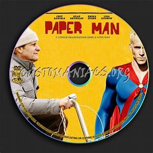 paper man dvd label dvd covers labels by customaniacs With dvd label paper