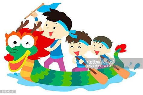 Dragon Boat Cartoon Images by Dragon Boat Racing Stock Illustrations And Cartoons