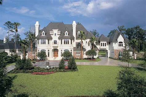 Chateau Style Homes by Chateau Style House Plans House Plans 10755