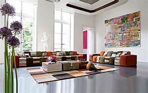 50 idees deco de canape With tapis d entrée avec canapé tissu roche bobois