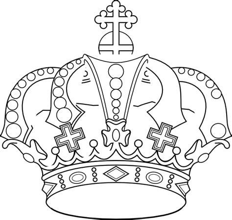 crown color stencil crown color clip at clker vector clip
