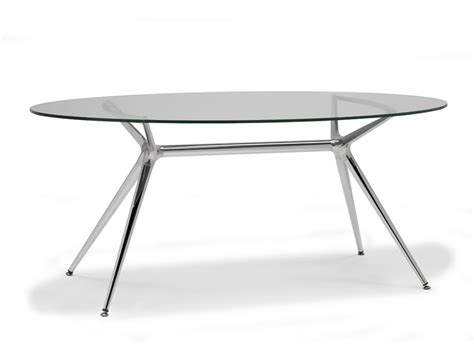 table de cuisine ovale metropolis table ovale by scab design