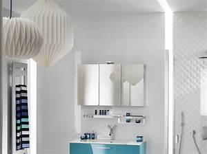 comment decorer sa salle de bain With salle de bain design avec boite ronde à décorer