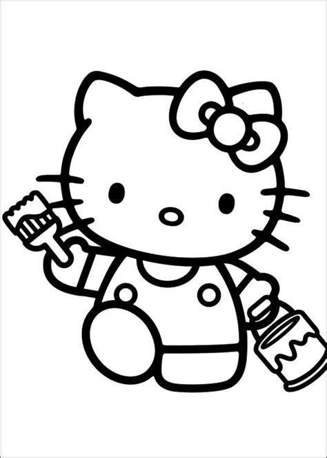 besten  kitty ausmalbilder bilder auf pinterest