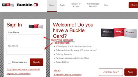 Pay your buckle credit card (comenity) bill online with doxo, pay with a credit card, debit card, or direct from your bank account. Buckle Credit Card Online Login - BankingLogin.US