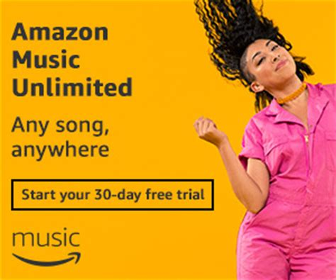 try amazon music unlimited 30 day free trial