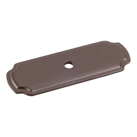 Cabinet Hardware Backplates Bronze by Jeffrey Cabinet Knob Backplate 2 13 16 Quot L