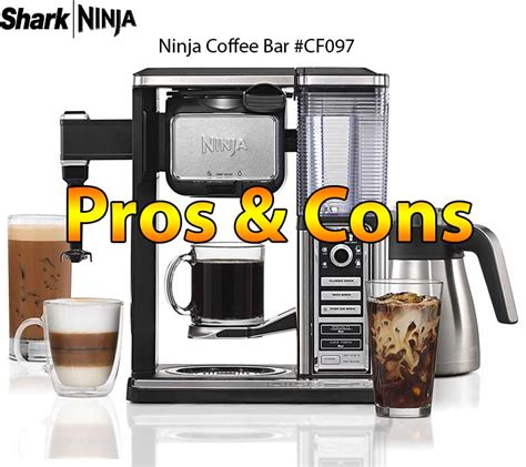 This enables any following brews to be slightly hotter. Ninja Coffee Bar Brewer System Model: CF097   Expert Review