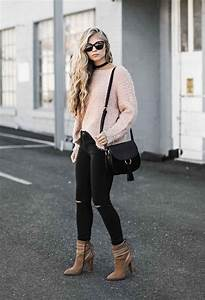 Best 25+ Pink sweater outfit ideas on Pinterest | Outfits Outfits primavera and Winter sweater ...