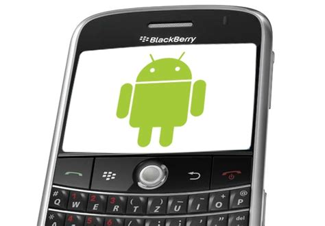 android blackberry poll should partner with to make android