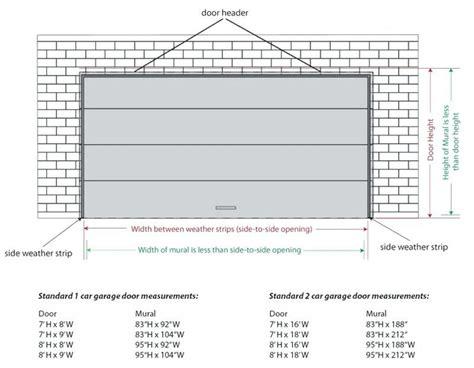 standard garage door sizes metric garage doors