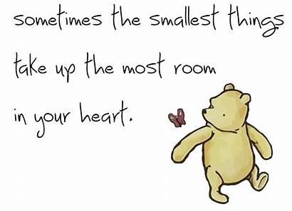 Pooh Winnie Things Classic Quotes Nursery Sometimes